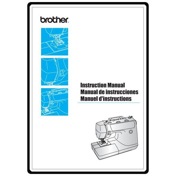 Instruction Manual, Brother PS-3700