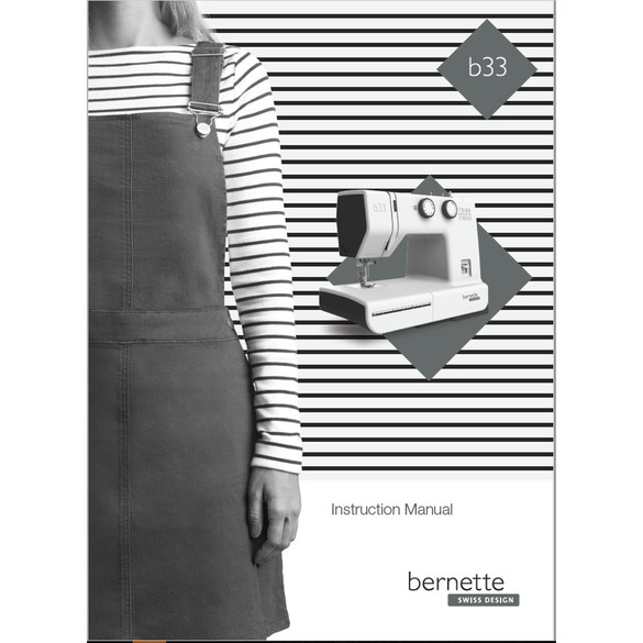 Instruction Manual, Bernette B33