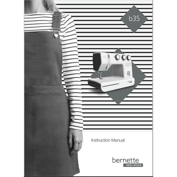 Instruction Manual, Bernette B35