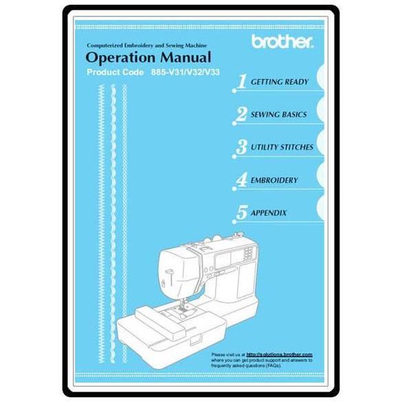 Instruction Manual, Brother SE-400