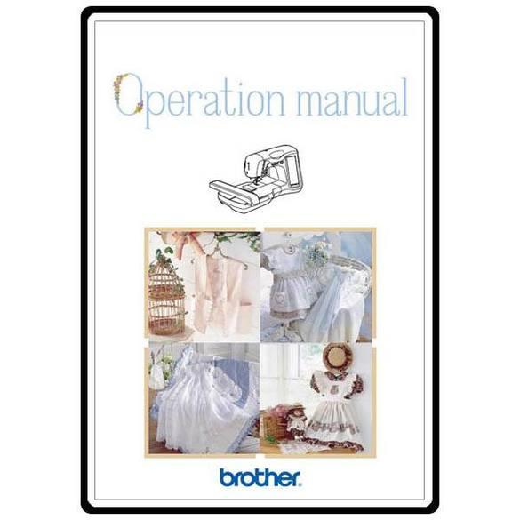 Instruction Manual, Brother ULT-2002D
