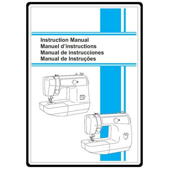 Instruction Manual, Brother VX-1435
