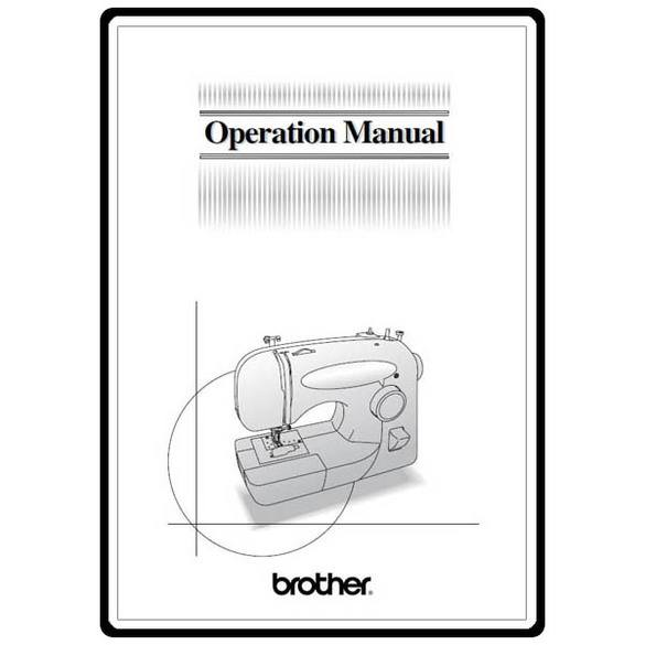 Instruction Manual, Brother XL-2121