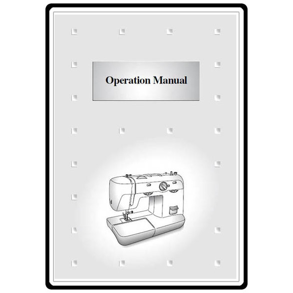 Instruction Manual, Brother XL-5700
