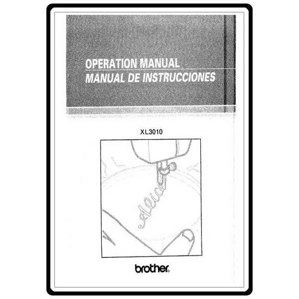 Instruction Manual, Brother XR-35