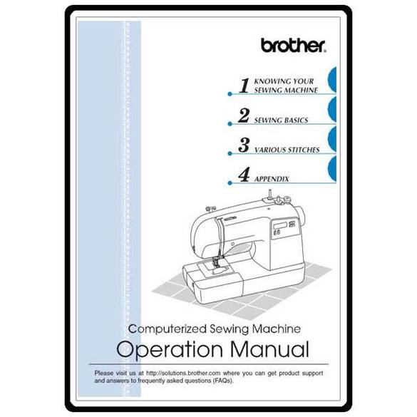 Instruction Manual, Brother XR-9000
