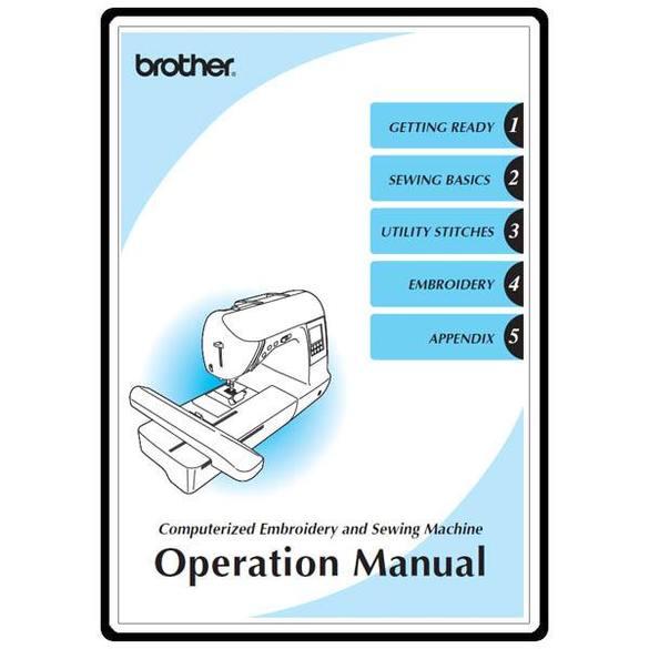 Instruction Manual, Brother Innovis 1250D