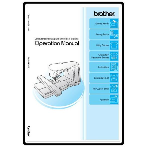 Instruction Manual, Brother Innovis 4000DLTD