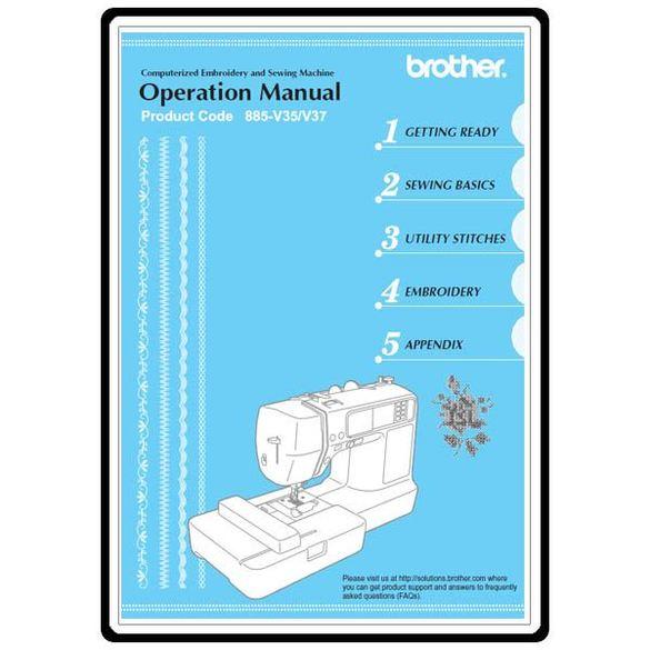 Instruction Manual, Brother Innovis 900D