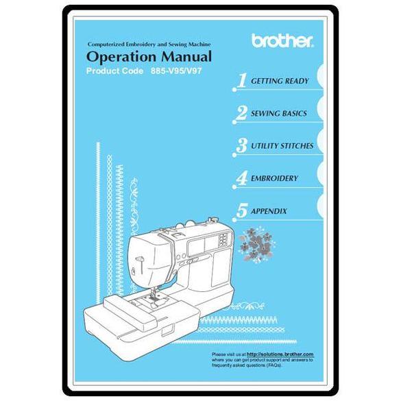 Instruction Manual, Brother Innovis 950D