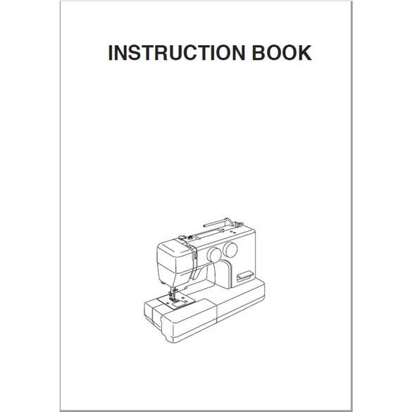 Instruction Manual, Janome MOD-15