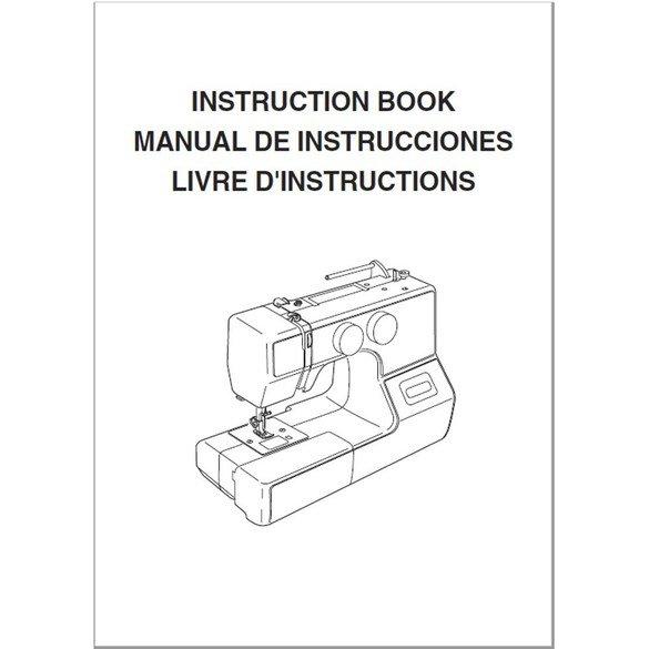 Instruction Manual, Janome MyStyle 100 (MS100)