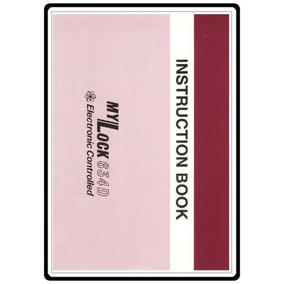 Instruction Manual, Janome MyLock 634D
