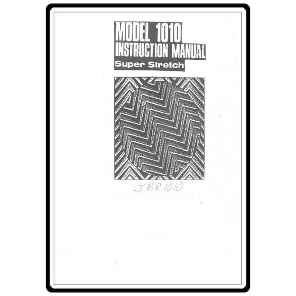 Instruction Manual, Riccar 1010