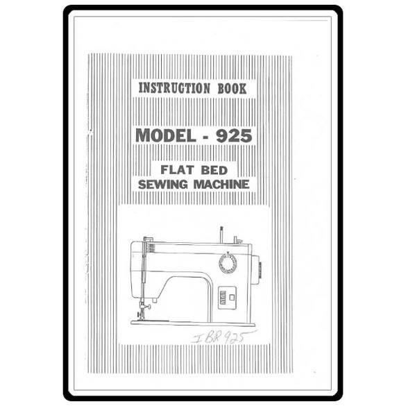 Instruction Manual, Riccar 1925