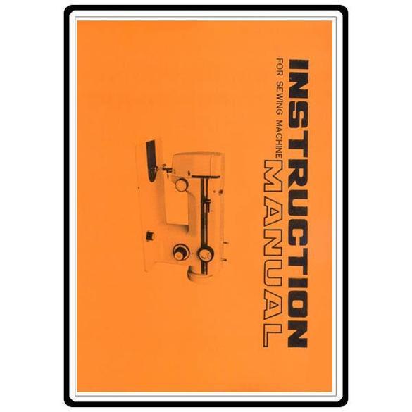 Instruction Manual, Riccar 608
