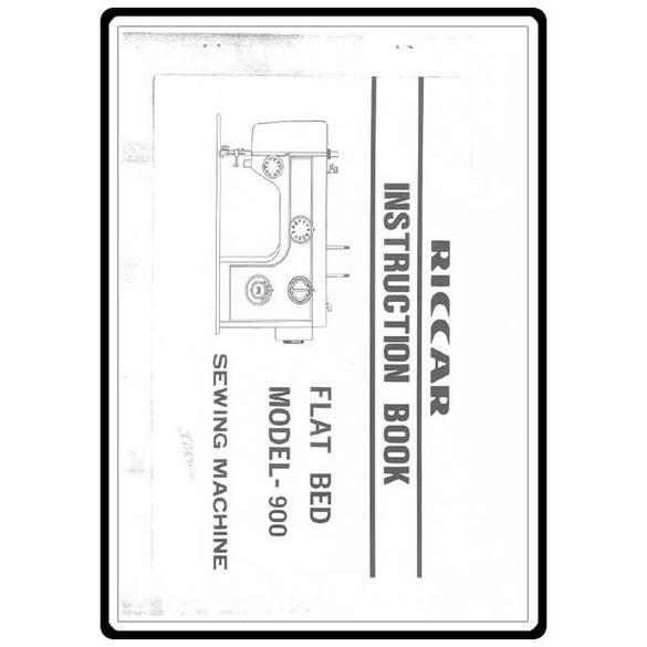 Instruction Manual, Riccar 900