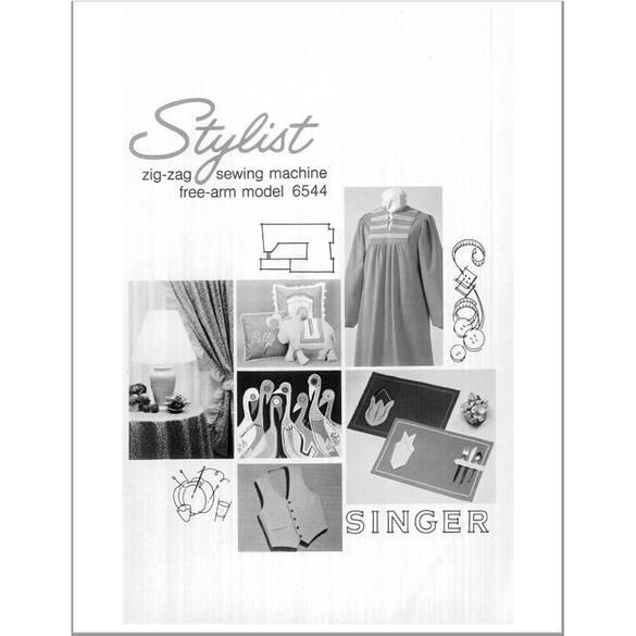 Instruction Manual, Singer 6544 Stylist