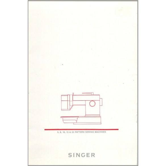 Instruction Manual, Singer 9005