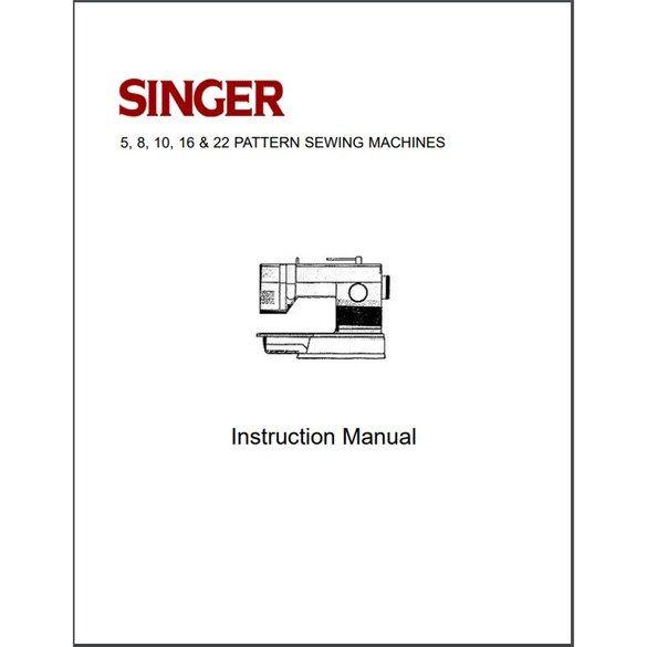 Instruction Manual, Singer 9420