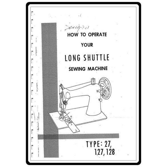 Instruction Manual, Singer 127