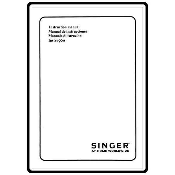 Instruction Manual, Singer 14T948DS