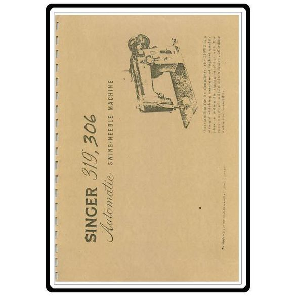 Instruction Manual, Singer 206