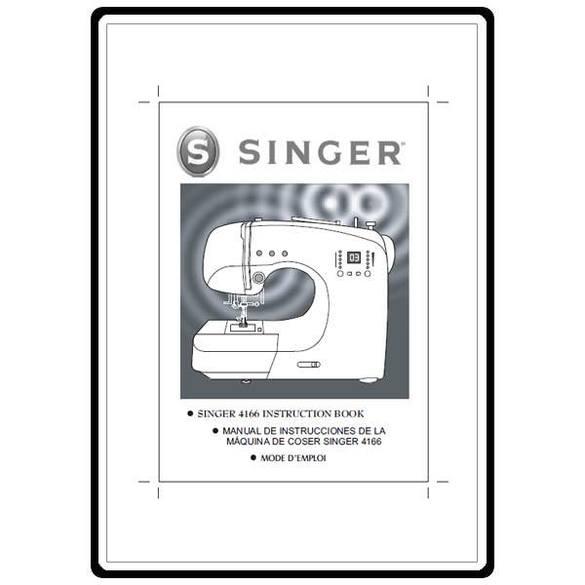 Instruction Manual, Singer 4166