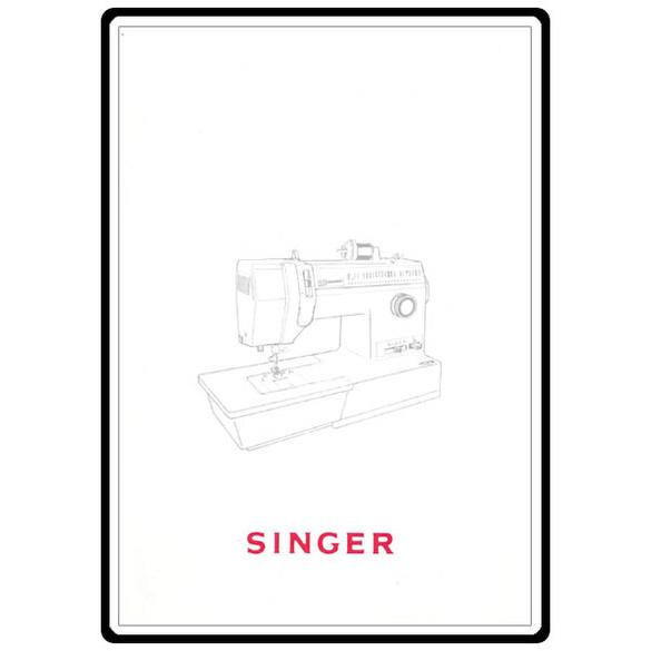 Instruction Manual, Singer 4572