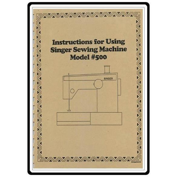 Instruction Manual, Singer 411