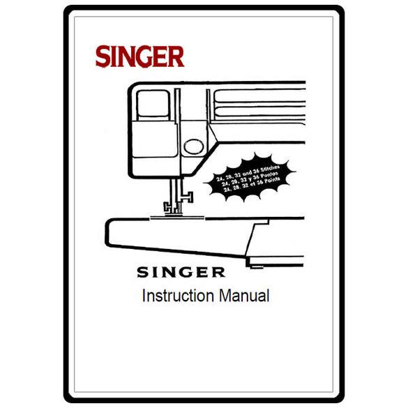 Instruction Manual, Singer 5050
