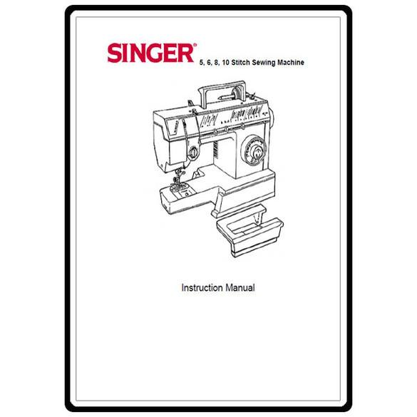 Instruction Manual, Singer 57820