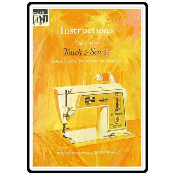Instruction Manual, Singer 620