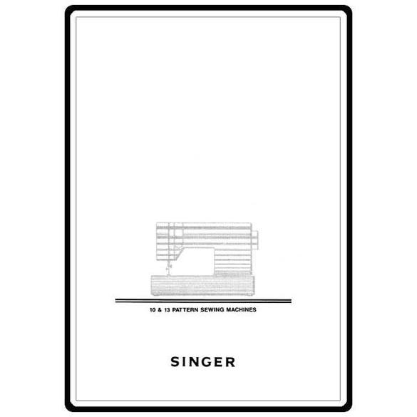 Instruction Manual, Singer 6252