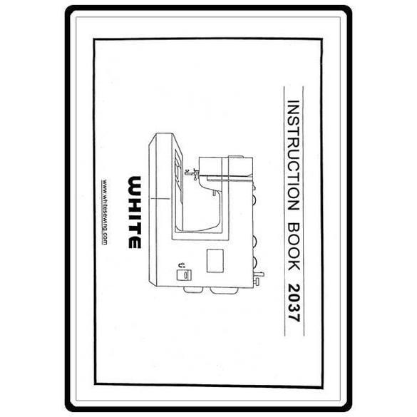 Instruction Manual, White 2037