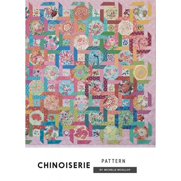 Jen Kingwell, Chinoiserie Quilt Pattern