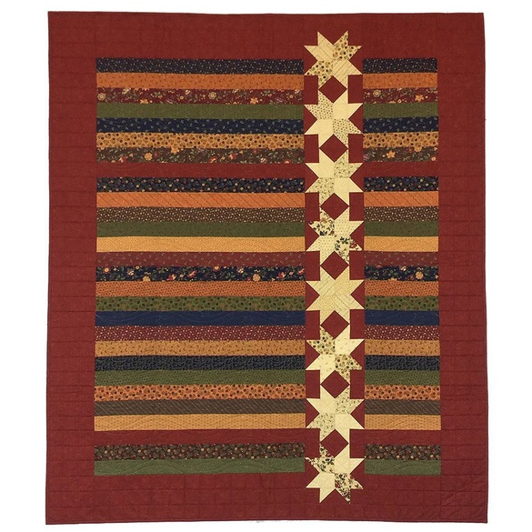 Stars on a Roll Quilt Pattern