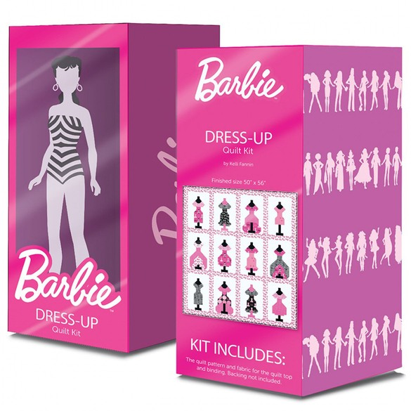 Barbie Dress-Up Quilt Kit & Pattern