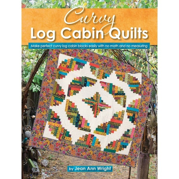 Curvy Log Cabin Quilts Book