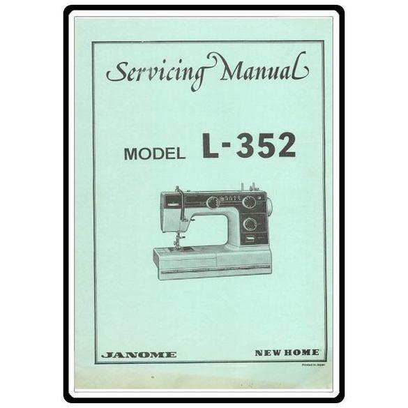 Service Manual, Janome L-352