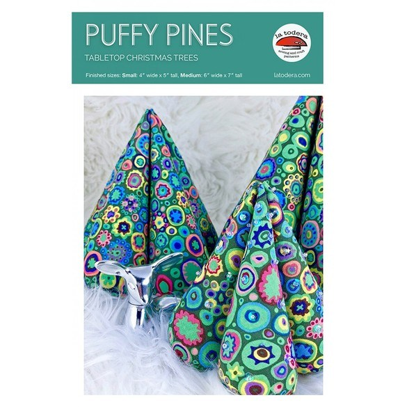 Puffy Pines Tabletop Christmas Trees Pattern