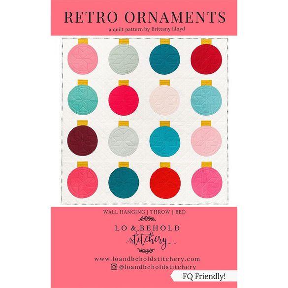 Retro Ornaments Quilt Pattern
