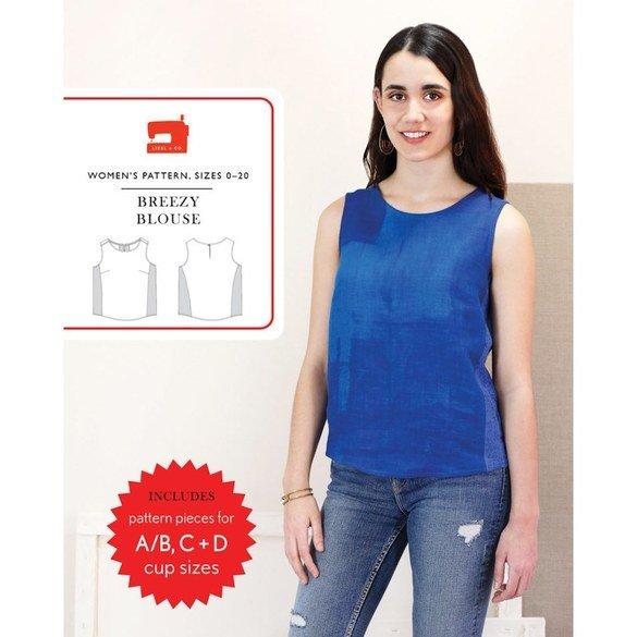 Breezy Blouse Pattern, Liesl & Co.