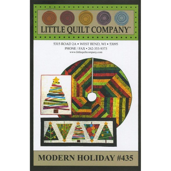 Modern Holiday Pattern, Little Quilt Company