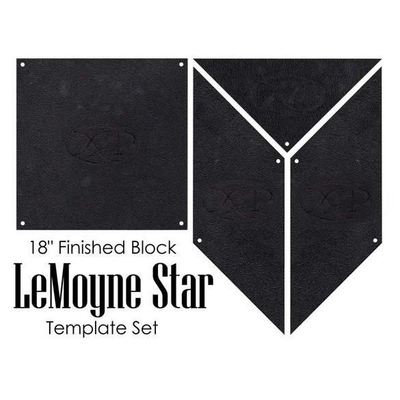 Lemoyne Star 4pc Template Set, Martelli