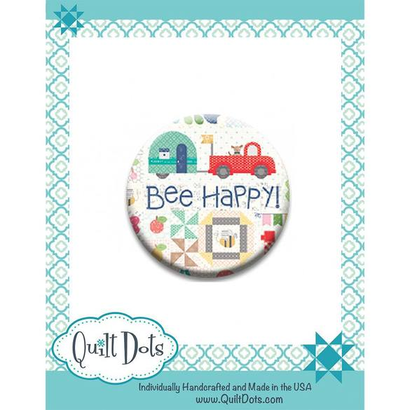 Quilt Dots, Needle Nanny Magnetic Pin Holder