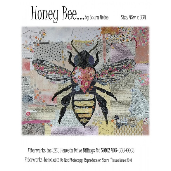Honey Bee Collage Quilt Pattern