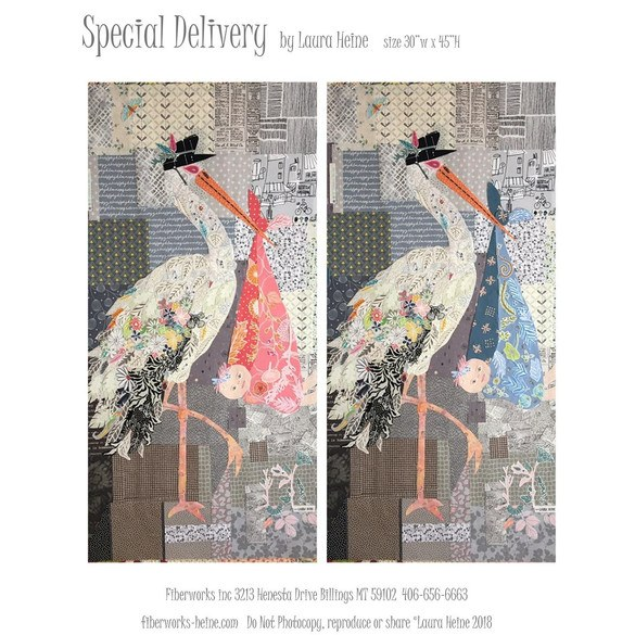 Special Delivery Collage Quilt Pattern