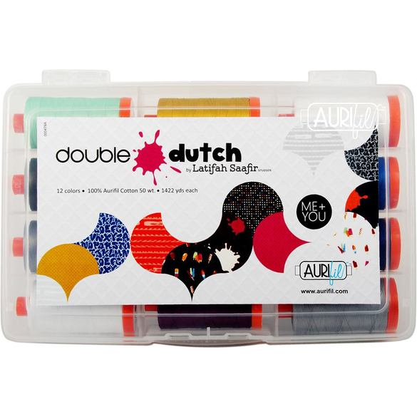 Latifah Saafir's Double Dutch Collection, Aurifil - 12 Spools