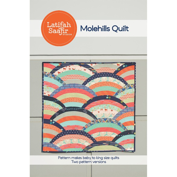 Latifah Saafir, Molehills Quilt Pattern